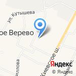 Веревский сельский культурно-досуговый центр на карте Санкт-Петербурга