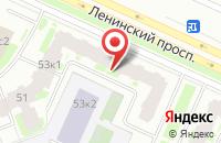 Схема проезда до компании Обозрение в Санкт-Петербурге