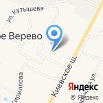 Картеж на карте Санкт-Петербурга