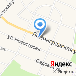 Аннушка на карте Санкт-Петербурга
