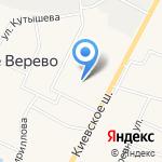 Веревская амбулатория на карте Санкт-Петербурга
