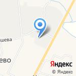 Верево на карте Санкт-Петербурга