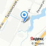 Бибус на карте Санкт-Петербурга