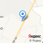 Мясная радость на карте Санкт-Петербурга