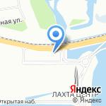 Теплопар на карте Санкт-Петербурга