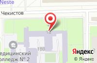 Схема проезда до компании Оригинал в Санкт-Петербурге