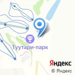 Туутари-Парк на карте Санкт-Петербурга