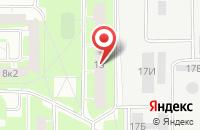 Схема проезда до компании Квадрат в Санкт-Петербурге