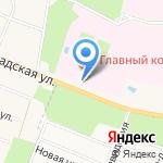 Часовня Святых Космы и Дамиана на карте Санкт-Петербурга