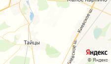 Гостиницы города Мюреля на карте