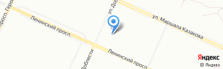 Детский сад №81 на карте Санкт-Петербурга
