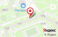 Схема проезда до компании Кофрум в Санкт-Петербурге