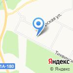 Новое Сертолово на карте Санкт-Петербурга