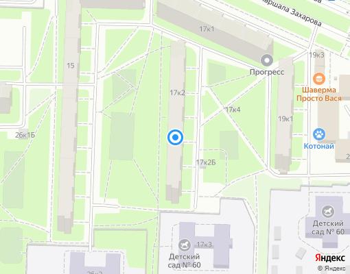 Жилищно-строительный кооператив «ЖСК №1084» на карте Санкт-Петербурга