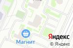 Схема проезда до компании Элен в Санкт-Петербурге