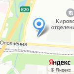 Хоттабыч-Авто на карте Санкт-Петербурга