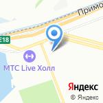 Милк на карте Санкт-Петербурга