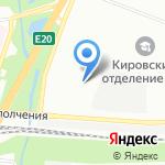 Спринт-Охрана на карте Санкт-Петербурга
