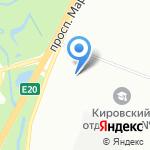Специальная общеобразовательная школа №2 на карте Санкт-Петербурга
