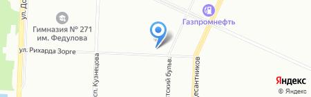 РОСНО-МС на карте Санкт-Петербурга