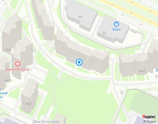 Товарищество собственников жилья «Кузнецова 10» на карте Санкт-Петербурга