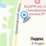 Шуваловский 86/1 на карте Санкт-Петербурга