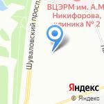 Городская поликлиника №114 на карте Санкт-Петербурга