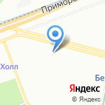Магазин кондитерских изделий на карте Санкт-Петербурга