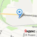 Координатор на карте Санкт-Петербурга