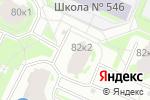 Схема проезда до компании Парижанка в Санкт-Петербурге