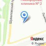 Чародейка на карте Санкт-Петербурга