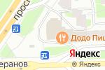 Схема проезда до компании Народные Двери в Санкт-Петербурге