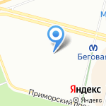 Фонтан на карте Санкт-Петербурга