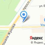 Стандарт на карте Санкт-Петербурга