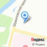 Allegro на карте Санкт-Петербурга