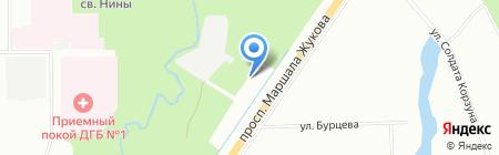 Шиномонтажная мастерская на проспекте Маршала Жукова на карте Санкт-Петербурга