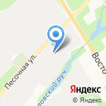 Матрица на карте Санкт-Петербурга