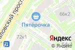 Схема проезда до компании Студия красоты №1 в Санкт-Петербурге
