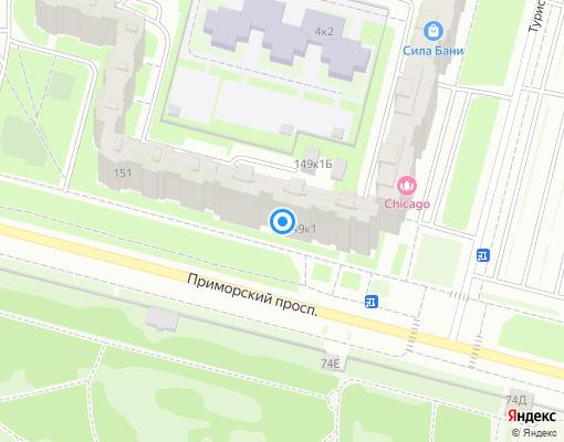 Жилищно-строительный кооператив «ЖСК-1360» на карте Санкт-Петербурга