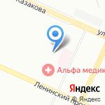 Нино на карте Санкт-Петербурга