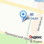 Александра на карте Санкт-Петербурга