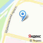 Детский сад №77 на карте Санкт-Петербурга