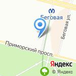 Умный малыш на карте Санкт-Петербурга