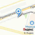 Free Flight на карте Санкт-Петербурга
