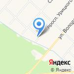 Баллон СПб на карте Санкт-Петербурга