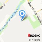 Выборгский гарнизонный военный суд на карте Санкт-Петербурга