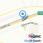 Автоклиника на карте Санкт-Петербурга