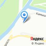 Хаски на карте Санкт-Петербурга
