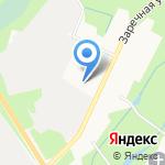 КР-линия на карте Санкт-Петербурга