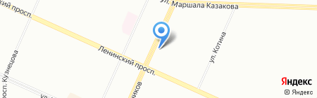 AvtoXP на карте Санкт-Петербурга
